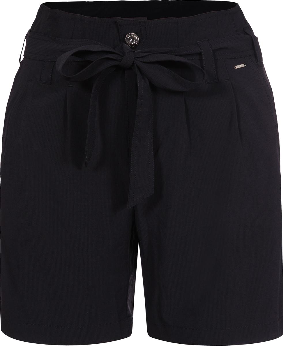 Шорты женские Luhta, цвет: черный. 939728349LV_990. Размер 40 (46/48) шорты женские