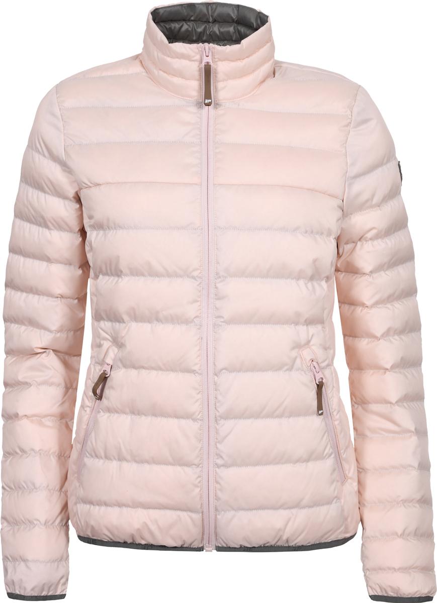 Куртка женская Icepeak, цвет: розовый. 953006352IXV_601. Размер 40 (46/48)953006352IXV_601Женская стеганая куртка Icepeak выполнена из полиэстера. Модель застегивается на молнию. Имеет приталенный силуэт, воротник-стойку и два кармана на молнии.
