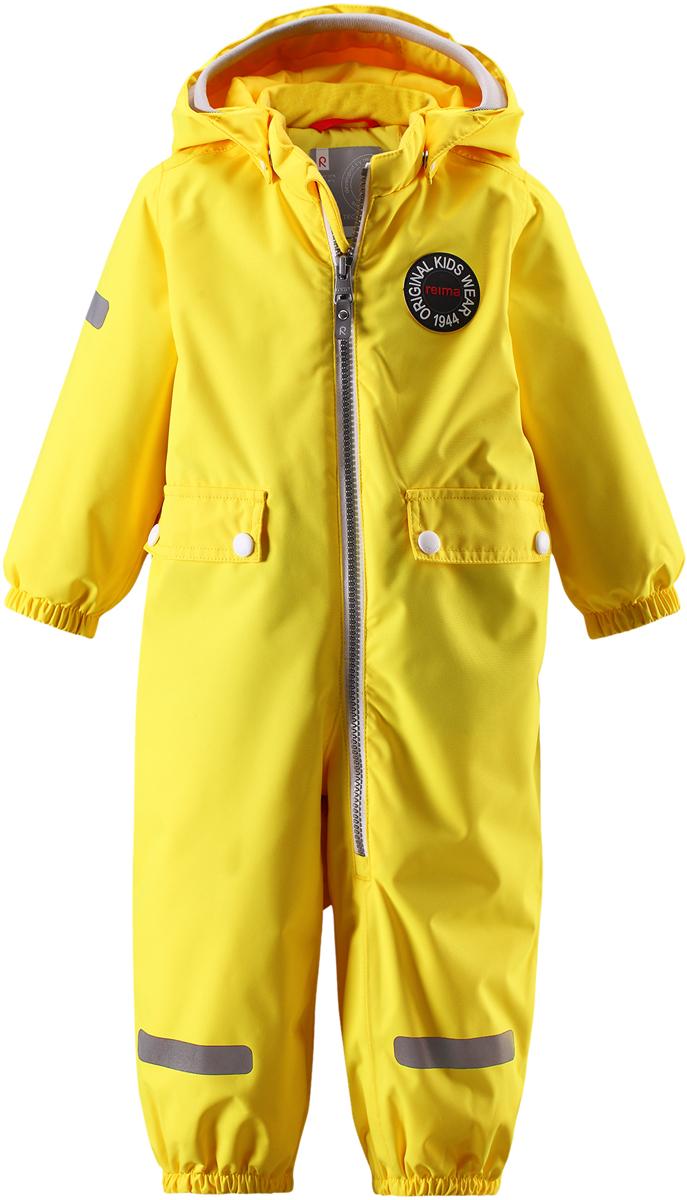 Комбинезон утепленный детский Reima Reimatec Fangan, цвет: желтый. 510289R2330. Размер 86510289R2330