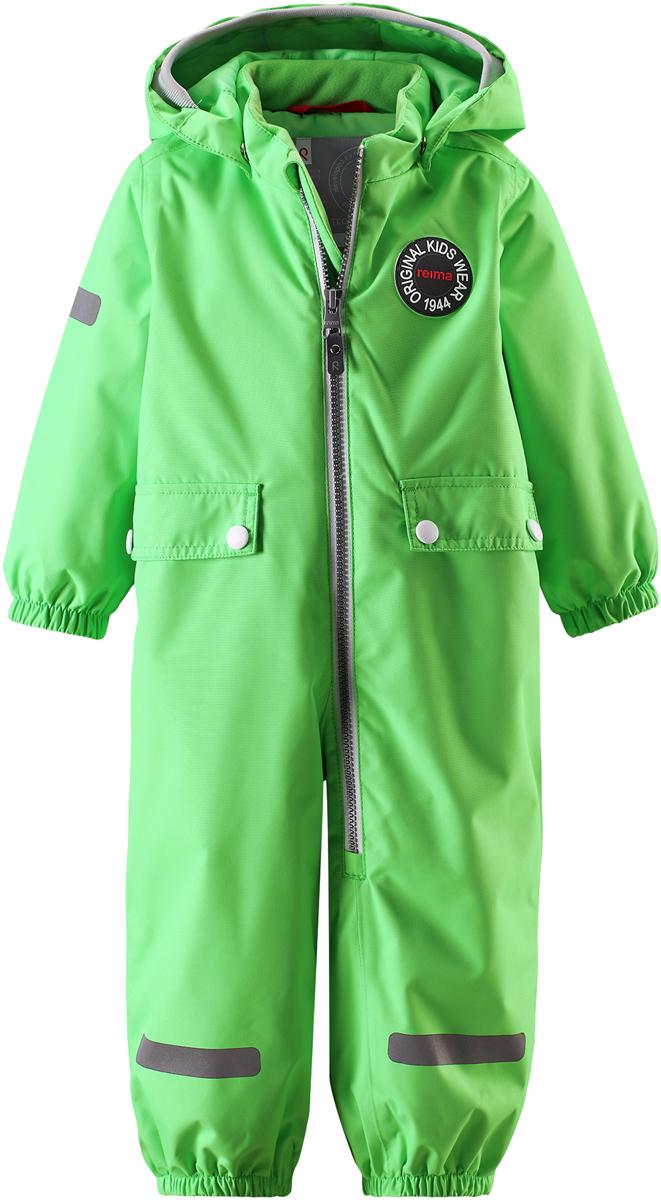 Комбинезон утепленный детский Reima Reimatec Fangan, цвет: зеленый. 510289R8460. Размер 74510289R8460