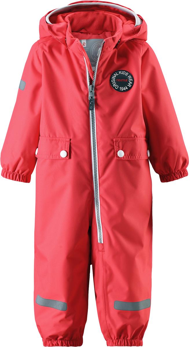Комбинезон утепленный детский Reima Reimatec Fangan, цвет: красный. 510289R3340. Размер 74510289R3340