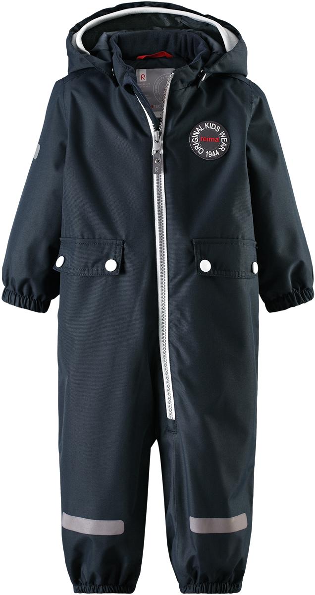 Комбинезон утепленный детский Reima Reimatec Fangan, цвет: темно-синий. 510289R6980. Размер 74510289R6980