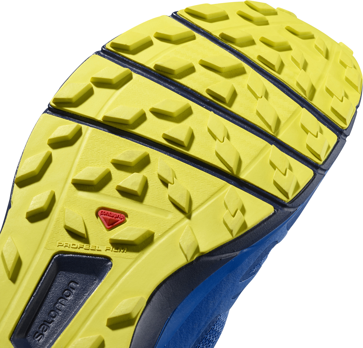 Мужские кроссовки для бега Salomon выполнены из текстиля. Достаточный уровень амортизации, перепад высоты 8 мм и зарекомендовавшая себя посадка - и вы готовы к бегу весь день напролет. Благодаря амортизации по всей длине подошвы модель Sense Ride обеспечивает комфорт во время долгих забегов по каменистым тропам. Наружная и промежуточная подошва, созданные с естественным обратным прогибом, помогают ступать след в след. Подошва Contagrip обеспечивает отличное сцепление на мягкой и твердой, мокрой и сухой земле. Такие кроссовки займут достойное место в коллекции вашей спортивной обуви.