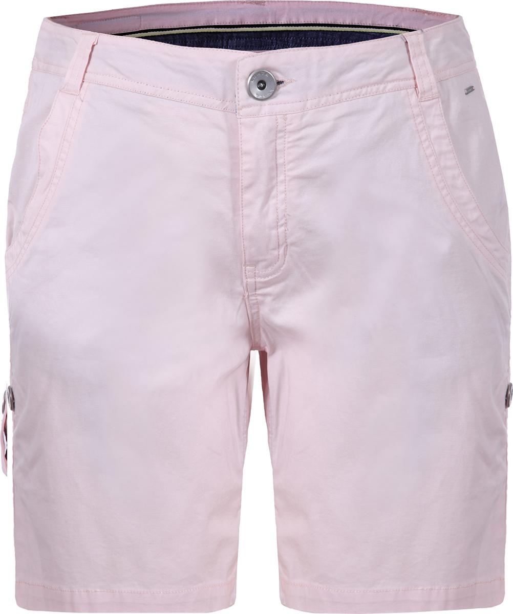 Шорты женские Luhta, цвет: светло-розовый. 939743362LV_602. Размер 36 (42/44)939743362LV_602Стильные женские шорты Luhta выполнены из эластичного хлопка. Модель стандартной посадки застегивается на пуговицу в поясе и ширинку на застежке-молнии. Пояс имеет шлевки для ремня. Спереди шорты дополнены втачными карманами, сзади - накладными карманами.