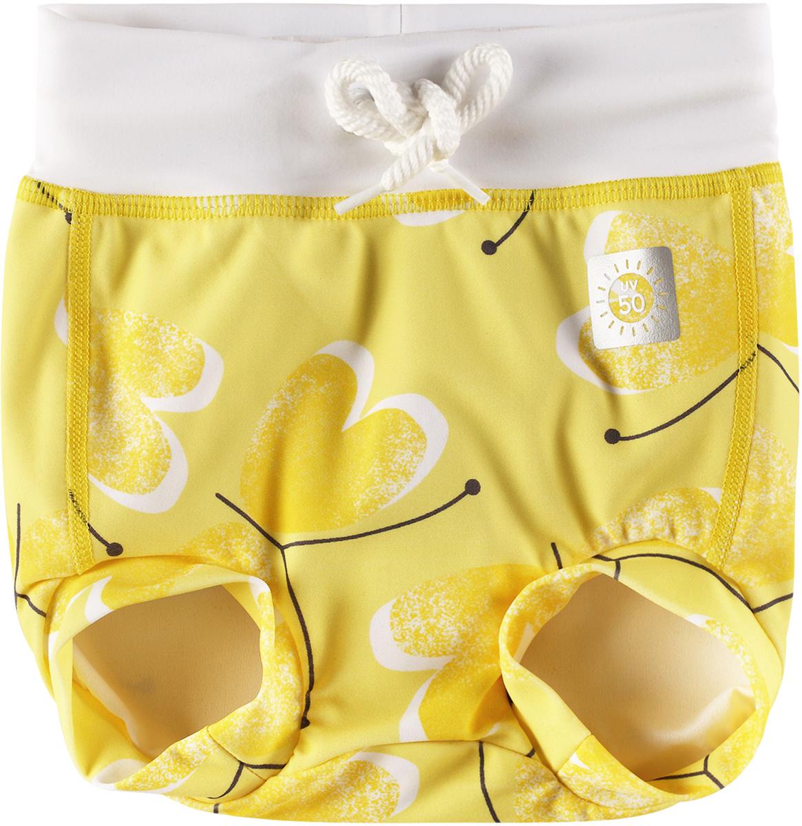 Купальные плавки детские Reima Belize, цвет: желтый. 5163342333. Размер 86 guatemala belize 1 500 000