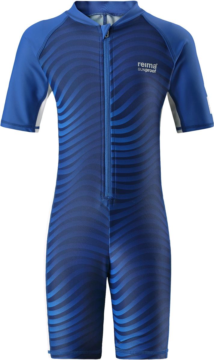 Купальный костюм детский Reima Galapagos, цвет: синий. 5262916642. Размер 1225262916642