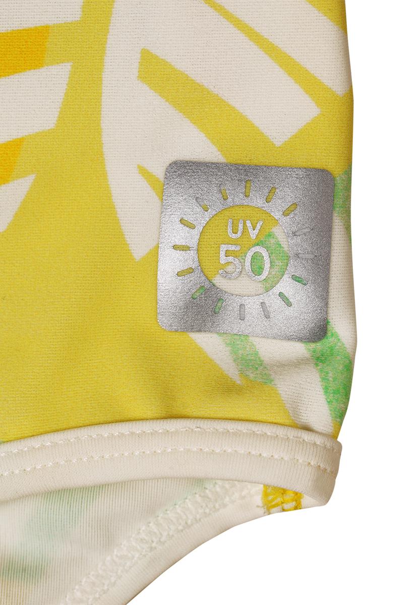 Купальник слитный для девочки Reima Sumatra, цвет:  желтый.  5362742331.  Размер 128 Reima