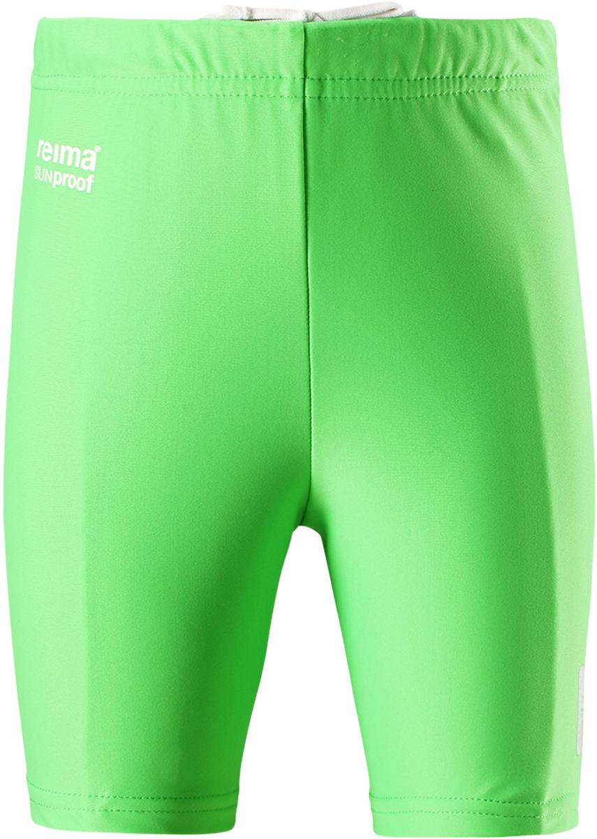 Шорты для плавания детские Reima Hawaii, цвет: зеленый. 5163468460. Размер 865163468460