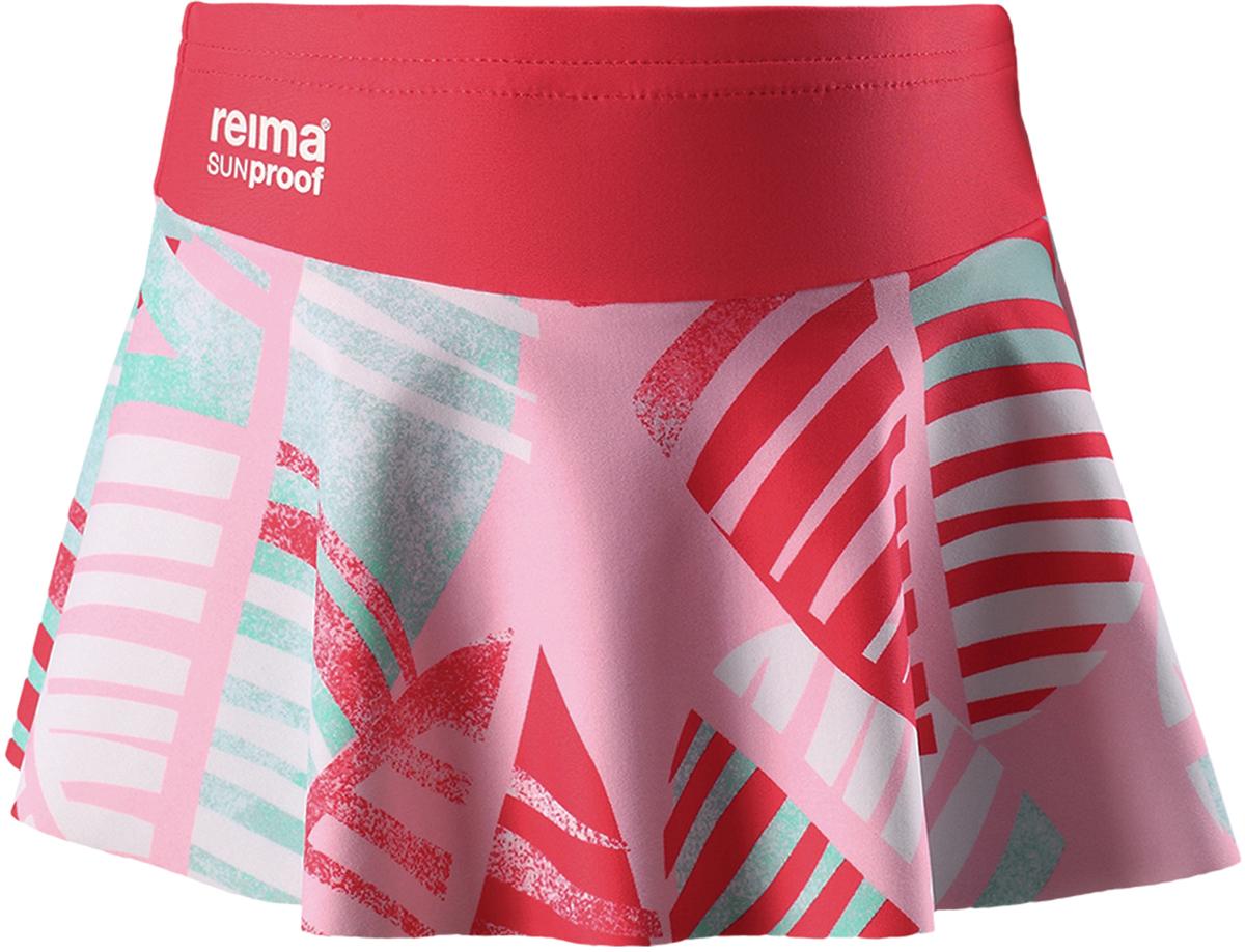 Купальные плавки для девочки Reima Atolli, цвет: светло-розовый. 5262903341. Размер 1405262903341