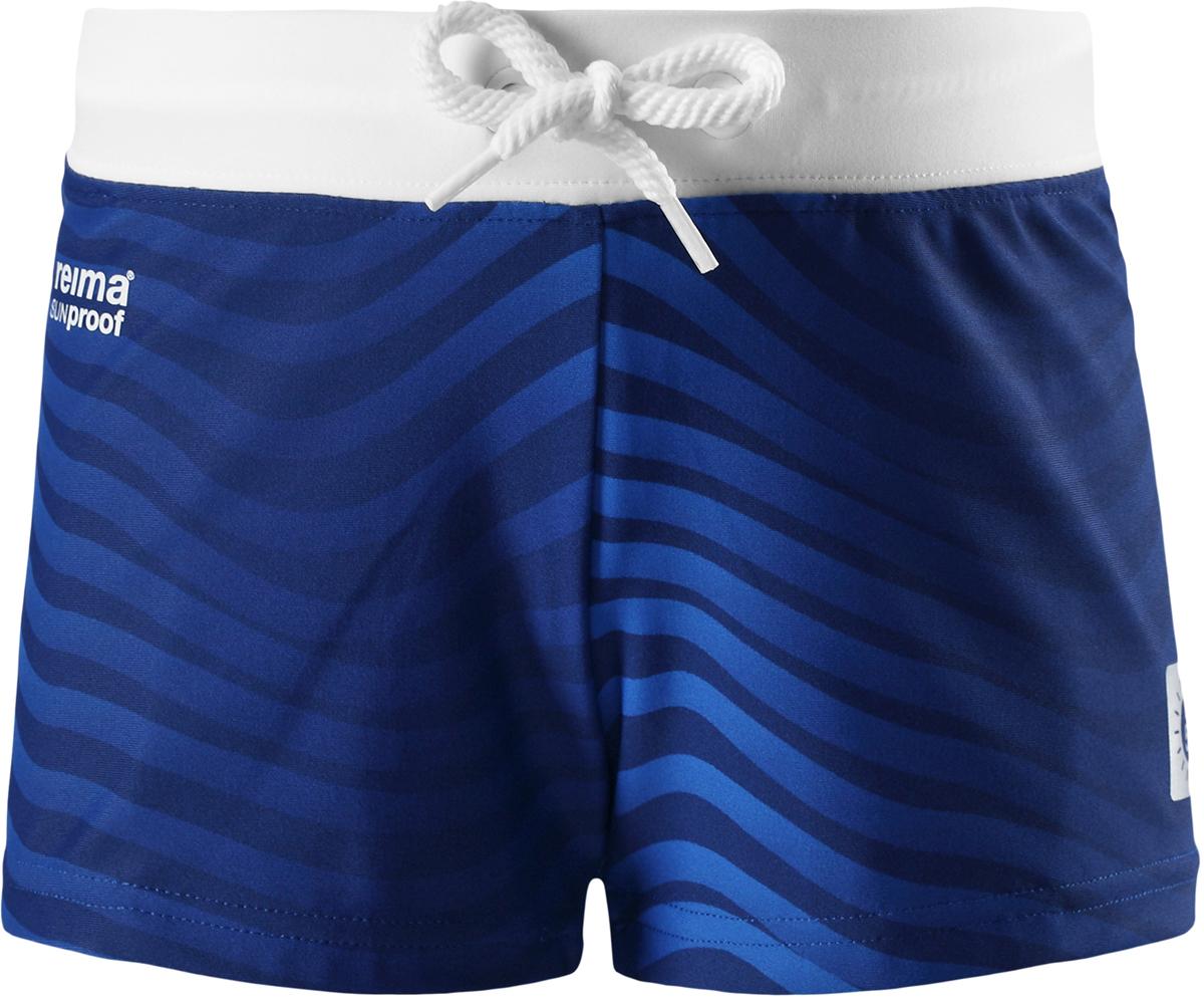 Шорты для плавания для мальчика Reima Tonga, цвет: синий. 5262896642. Размер 925262896642