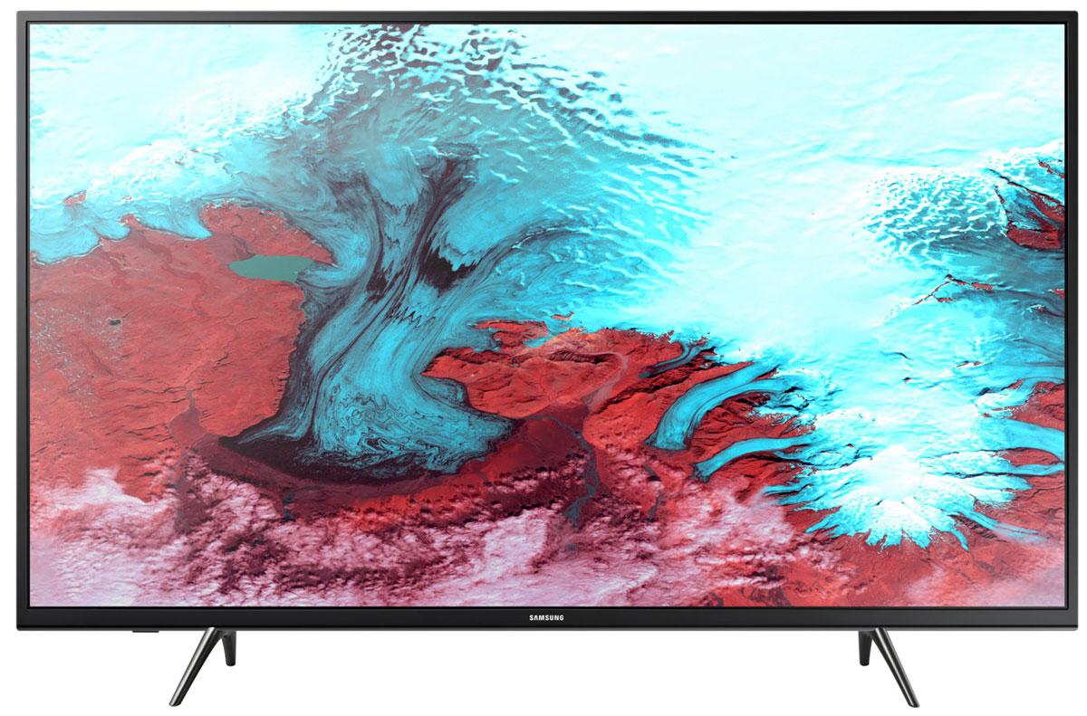 Samsung UE43J5202AUX, Black телевизор - Телевизоры