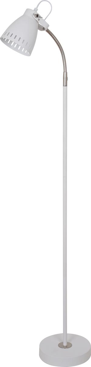 Светильник напольный Camelion New York, цвет: белый, 40 W, 230 V, E2713051Напольный светильник Camelion New York служит как источник освещения для дома. Изготовлен из металла. Имеет регулируемый по длине провод и оснащен выключателем. Можно использовать с любыми типами лампочек, в том числе со светодиодными.Преимущества:- современный дизайн; - высокие показатели прочности; - продолжительный срок эксплуатации.