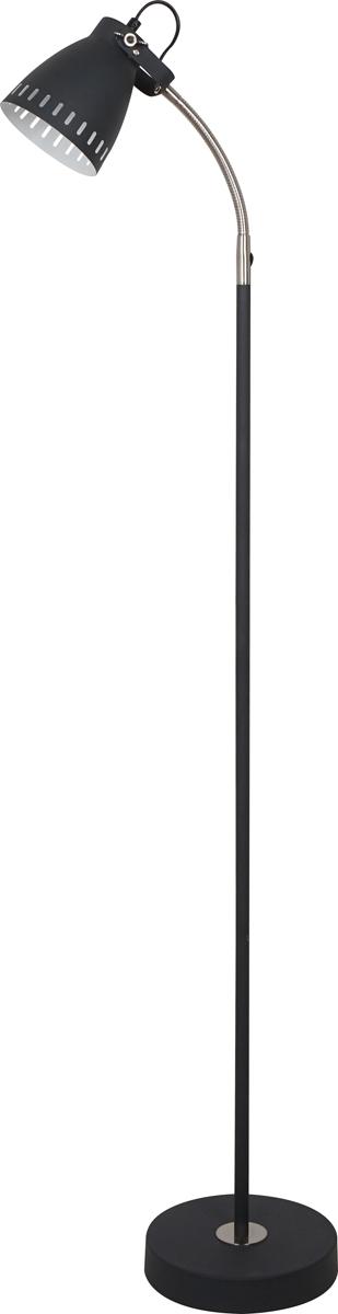 Светильник напольный Camelion New York, цвет: черный, 40 W, 230 V, E2713049Напольный светильник Camelion New York служит как источник освещения для дома. Изготовлен из металла. Имеет регулируемый по длине провод и оснащен выключателем. Можно использовать с любыми типами лампочек, в том числе со светодиодными.Преимущества:- современный дизайн; - высокие показатели прочности; - продолжительный срок эксплуатации.