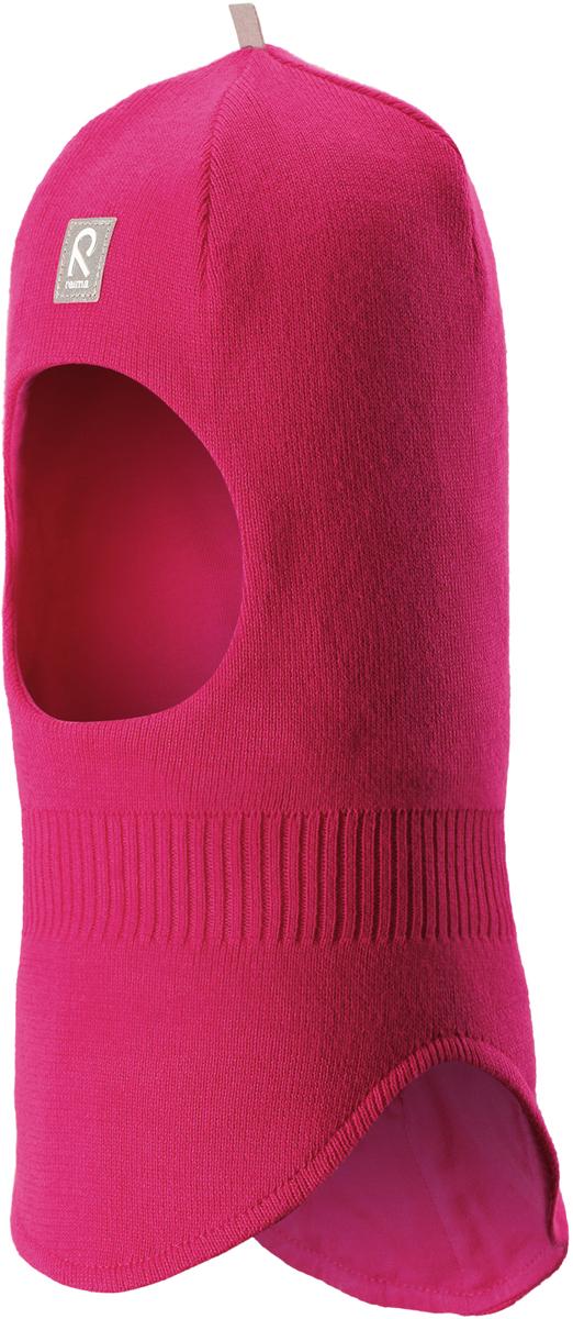 Шапка-шлем детская Reima Honka, цвет: фуксия. 5184524620. Размер 525184524620