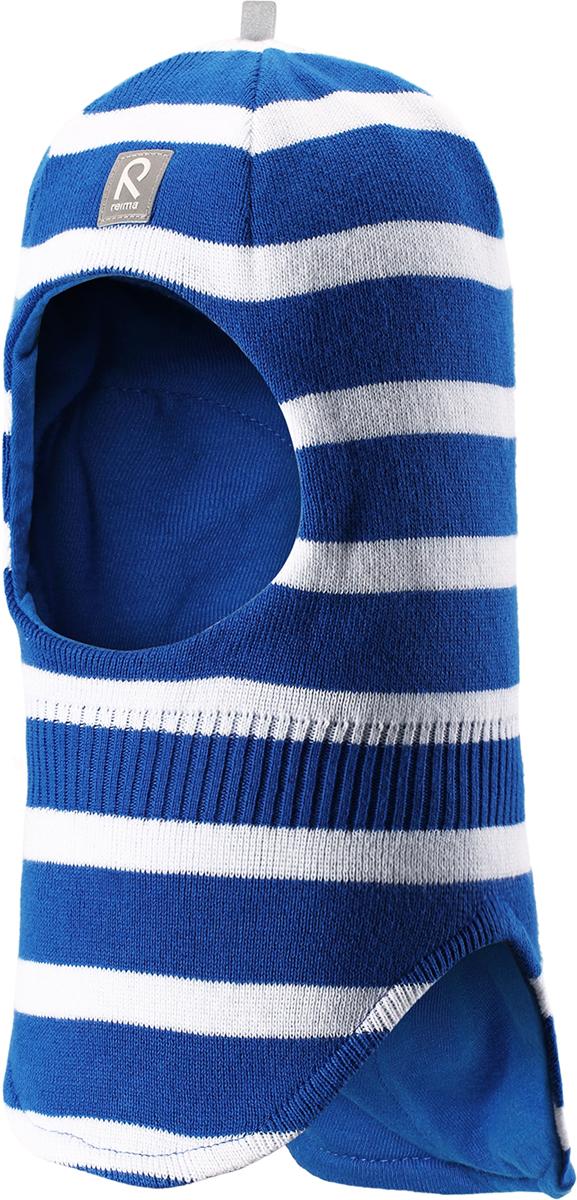 Шапка-шлем детская Reima Honka, цвет: синий. 5184526641. Размер 525184526641