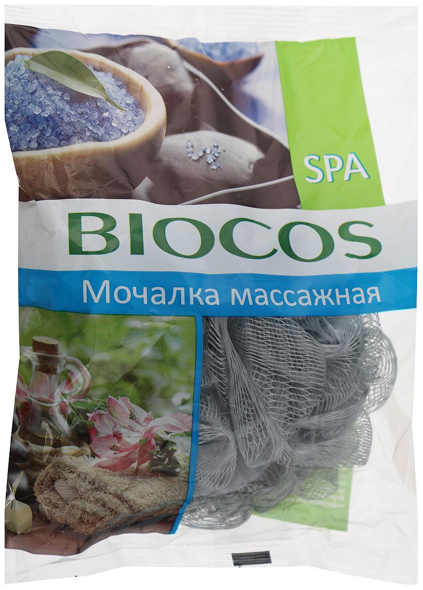 BioCos Мочалка массажная для тела Spa, цвет: серый14498/серыйBioCos Мочалка массажная для тела Spa, цвет: серый