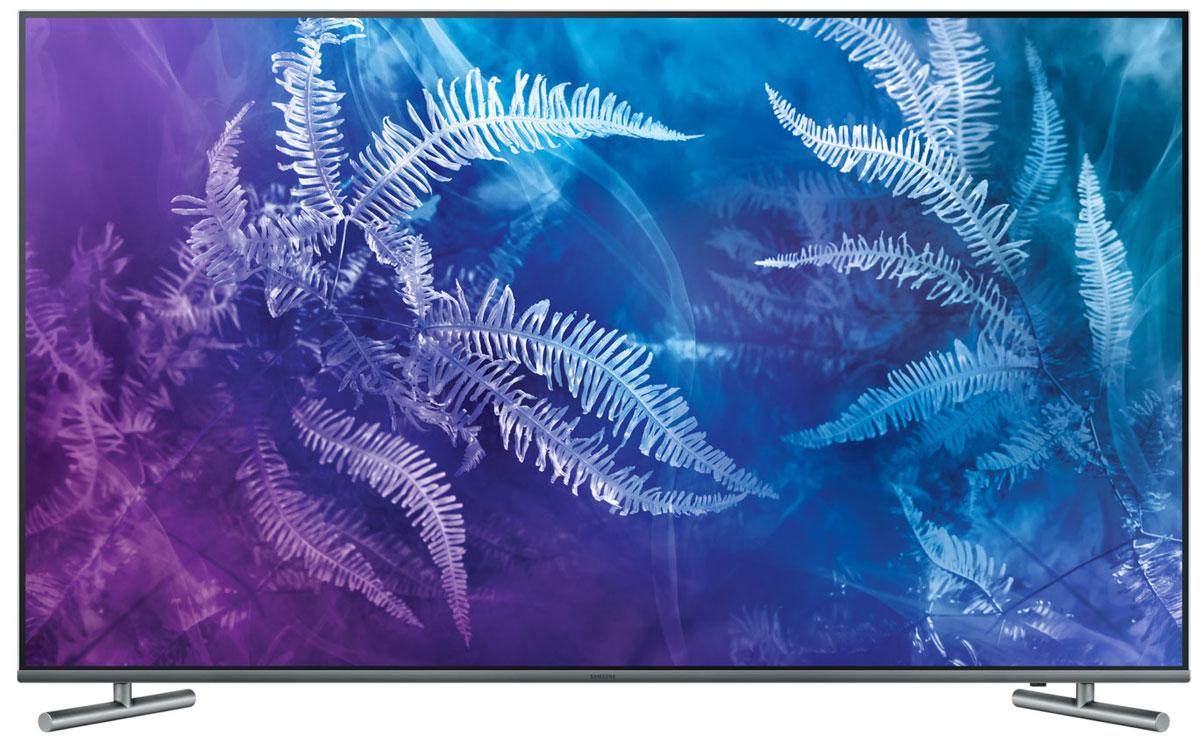 Samsung QE55Q6FAMUX, Black телевизорQE55Q6FAMUXRUОткройте новую вселенную цвета, которая изменит ваше представление о телевизорах. Диапазон цветовойпалитры телевизора Samsung QE55Q6FAMUX потрясающе широк - окунитесь в реальный мир цвета на экране.Вы увидите невозможное благодаря технологии расширения динамического диапазона Q HDR 1000 -изображение глазами режиссера и мельчайшие детали объектов, скрытых в самых темных и светлых фрагментахизображения.Оцените глубокую проработку деталей в самых темных и светлых сценах с помощью технологии Precision Black.Технологии увеличении контрастности и локального затемнения фрагментов изображения улучшают четкостьи точность передачи мельчайших деталей изображения на экране.Технология Peak Illuminator улучшает проработку деталей в темных сценах. Потрясающе четкое изображение вкаждой сцене на экране.Дизайн QLED-телевизора Samsung QE55Q6FAMUX безупречен - невероятно тонкий корпус, экран почти безрамки, идеально ровная бесшовная задняя поверхность. Здесь нет ничего лишнего.Оцените невероятное ощущения от эффекта полного погружения. Тонкий дизайн и почти полное отсутствиерамки с трех сторон экрана превращает каждую сцену на экране в захватывающее зрелище.Подключите все внешние устройства к блоку One Connect. Это устранит проблему жгутов кабелей вы получитебольше удовольствия от просмотра телепередач.Полный контроль над системой развлечений в ваших руках. Управляйте внешними устройствами,подключенными к телевизору, с помощью одного пульта ДУ. А с функцией голосового управления вам большене придется переключать каналы вручную.Просто подключите ваше мобильное устройство к телевизору и просматривайте контент на большом экране. Ас помощью приложения Smart View вы сможете управлять телевизором прямо с мобильного устройства.