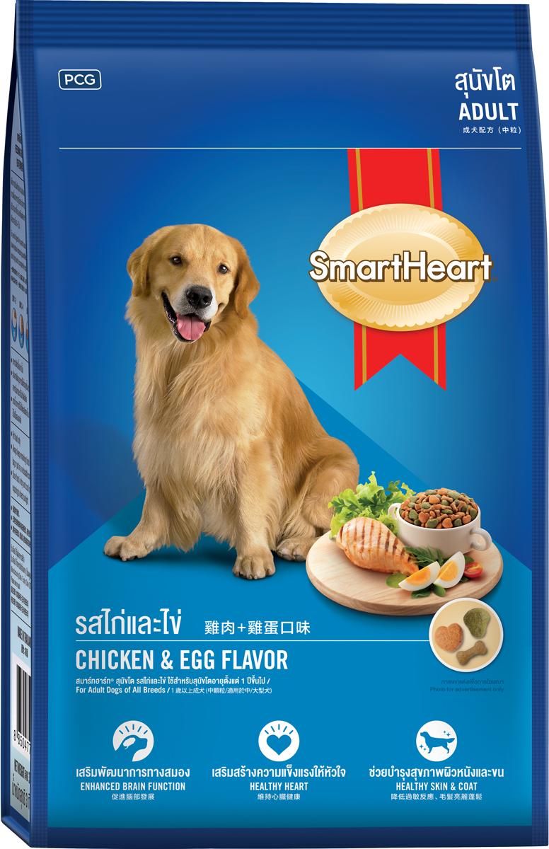 Корм сухой для собак PCG  СмартХарт , курица и яйцо, 20 кг - Корма и лакомства