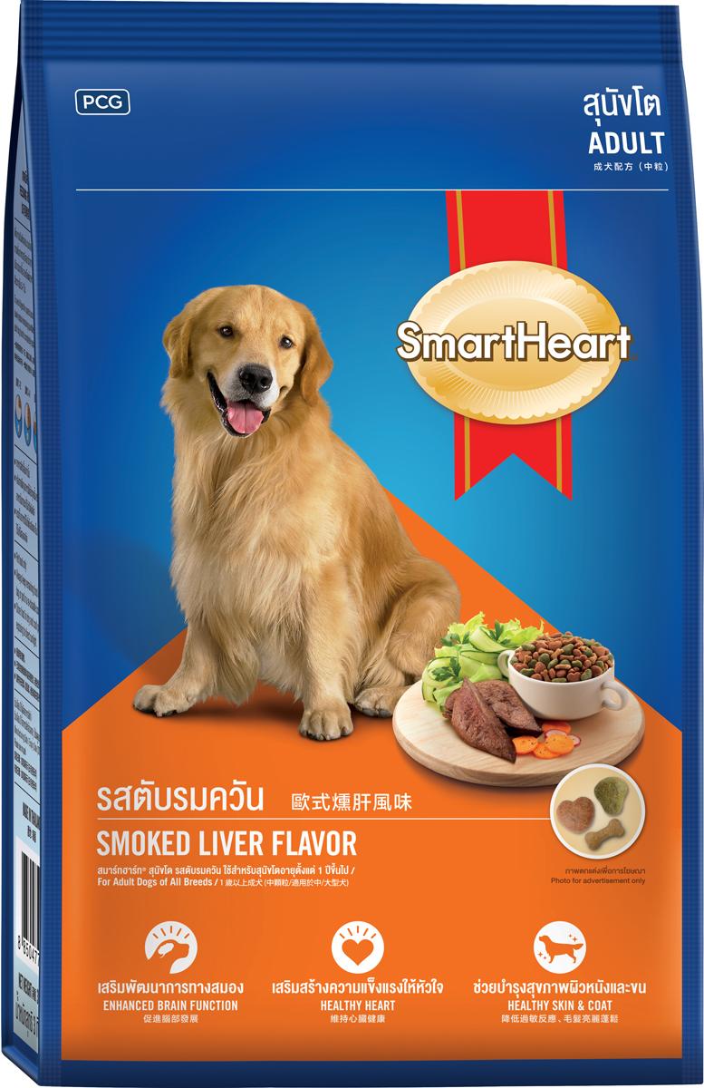 Корм сухой для собак PCG  СмартХарт , жареный ливер, 20 кг - Корма и лакомства