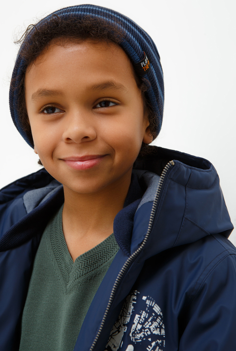 Шапка для мальчика Acoola Milfoil, цвет: мультиколор. 20136400040_8000. Размер M (52)20136400040_8000Детская шапка от Acoola выполнена из акрила. Такая шапка согреет вашего ребенка в холодное время года.Уважаемые клиенты!Размер, доступный для заказа, является обхватом головы.