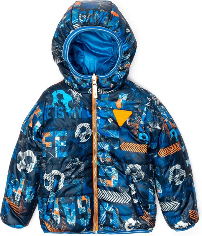 Куртка для мальчика Acoola Holborn, цвет: мультиколор. 20120130109_9000. Размер 10420120130109_9000Куртка для мальчика Acoola Holborn выполнена из полиэстера. Модель с капюшоном застегивается на молнию.