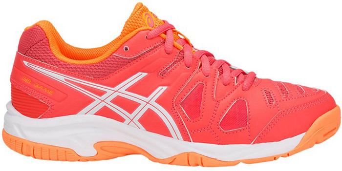 Кроссовки для девочки Asics Gel-Game 5, цвет: коралловый. C502Y-3001. Размер 7 (38,5) кроссовки asics кроссовки gel fortitude 7 2e