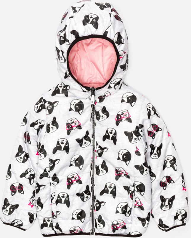 Куртка для девочки Acoola Ples, цвет: серый. 20220130120_1900. Размер 104 acoola для девочки muse серый