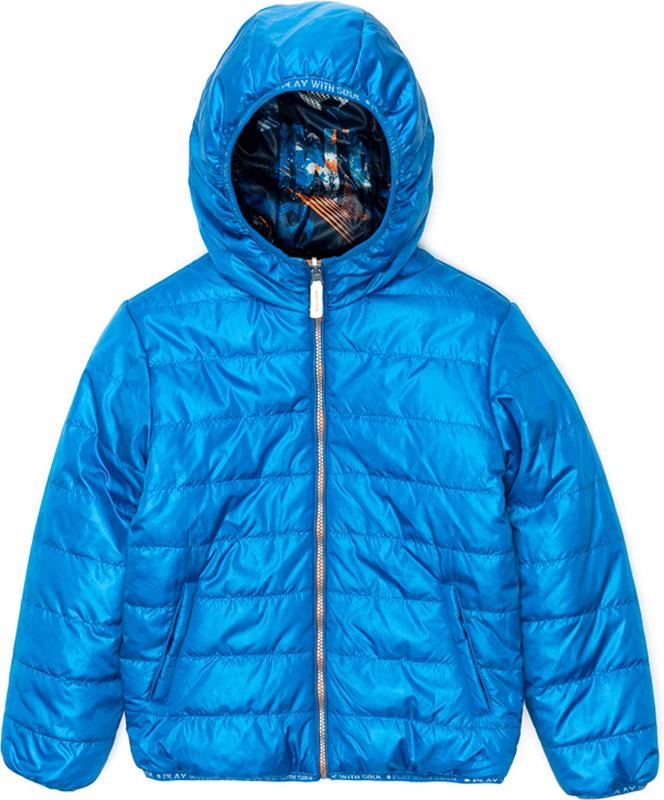 Куртка для мальчика Acoola Holborn, цвет: голубой. 20110130122_9000. Размер 13420110130122_9000Куртка для мальчика Acoola Holborn выполнена из полиэстера. Модель с капюшоном застегивается на молнию.