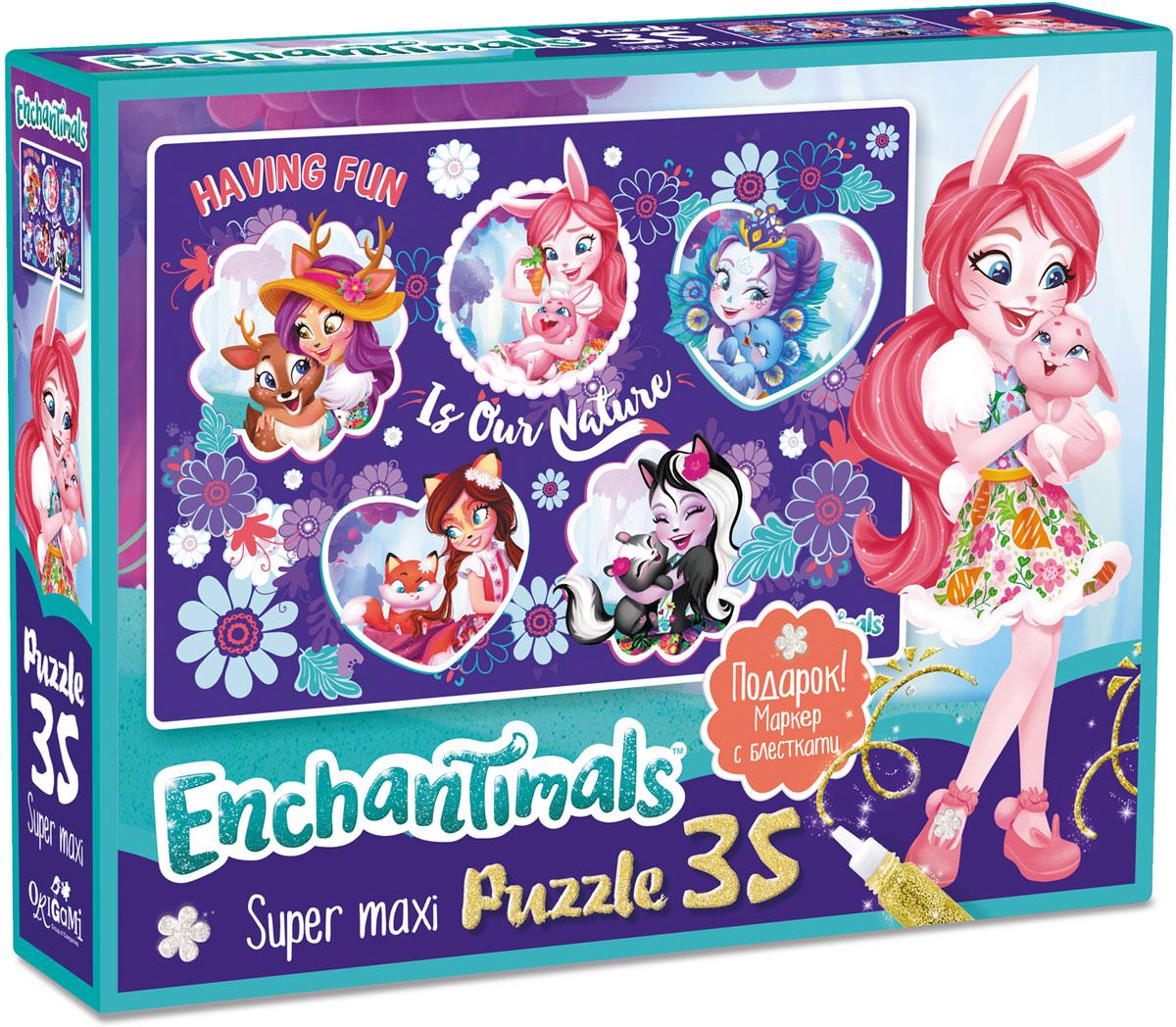 Enchantimals Пазл Nature, ООО Группа компаний Оригами , Обучение и развитие  - купить со скидкой