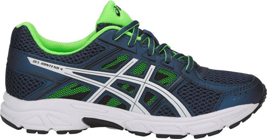 Кроссовки для мальчика Asics Gel-Contend 4 GS, цвет: темно-синий. C707N-4901. Размер 4 (34,5)C707N-4901