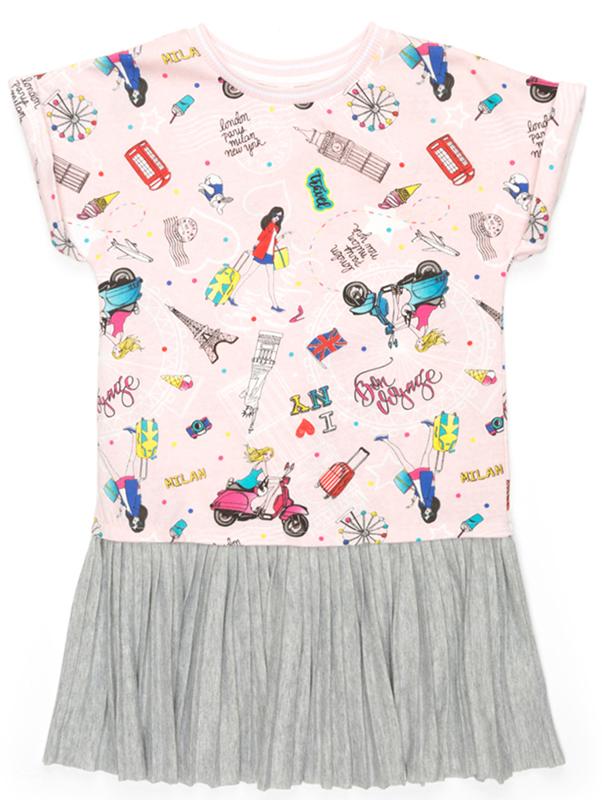Платье для девочки Acoola Ovada, цвет: мультиколор. 20210200209_8000. Размер 164