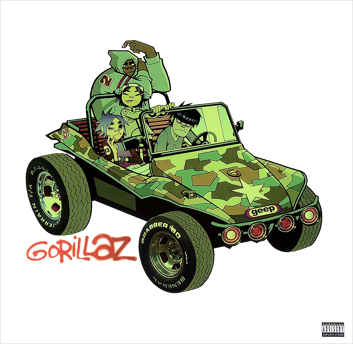 Gorillaz Gorillaz. Gorillaz (2 LP) gorillaz montreal