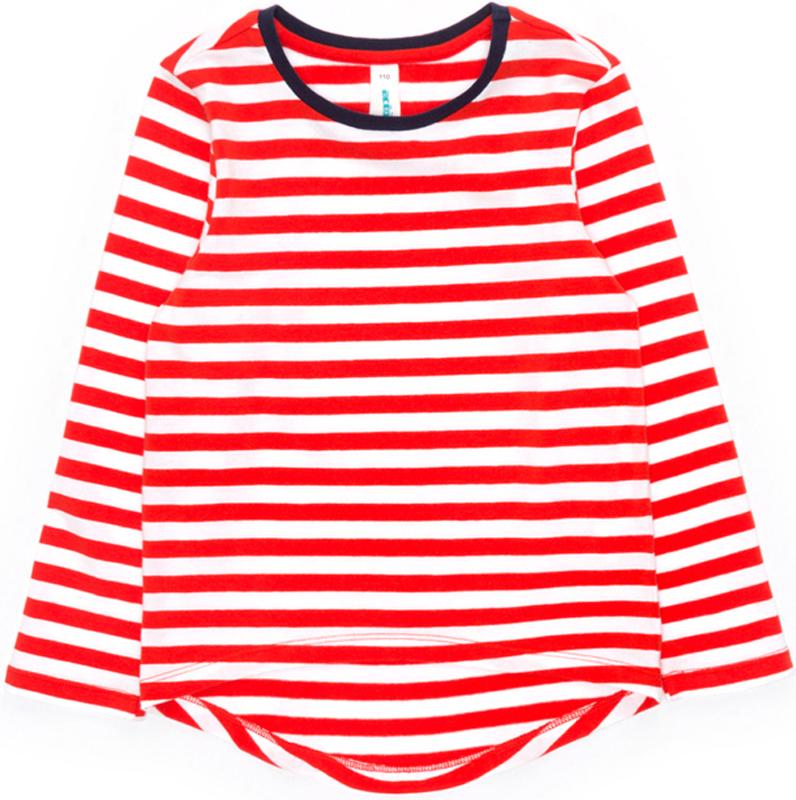 Футболка с длинным рукавом для девочки Acoola Octans, цвет: красный. 20220100159_1500. Размер 122 футболка acoola acoola ac008egsdy35
