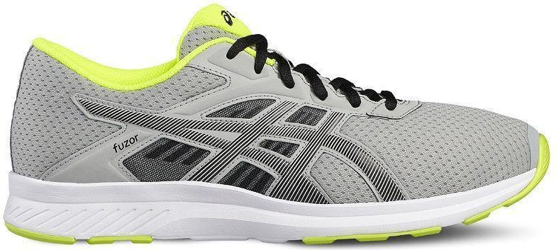 Кроссовки для мальчика Asics Gt-1000 6 GS, цвет: серый. C740N-1123. Размер 4H (35,5)C740N-1123Легкие кроссовки для мальчика Asics Gt-1000 6 Gs покорят вашего ребенка своим дизайном и функциональностью! Верх кроссовок выполнен из специальной дышащей сетки, которая обеспечивает оптимальный микроклимат внутри обуви. Промежуточная подошва из EVA и вставки Asics Gel в пяточной области обеспечивают превосходную поддержку и предохраняют ноги ребенка от усталости. В модели предусмотрена съемная стелька для простоты ухода и дополнительной амортизации. Светоотражающие элементы обеспечат безопасность в темное время суток.