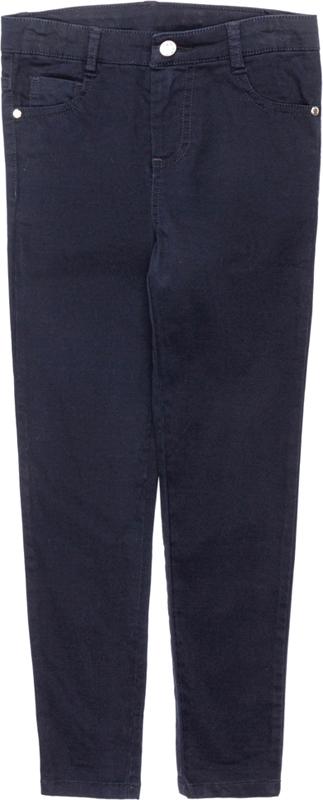 Брюки для девочки Acoola Fody, цвет: темно-синий. 20240160010_600. Размер 14620240160010_600Стильные брюки для девочки Acoola идеально подойдут вашей маленькой моднице. Изделие выполнено из качественного материала. Модель застегивается на комбинированную застежку. На поясе предусмотрены шлевки для ремня.Такие брюки займут достойное место в гардеробе вашего ребенка.