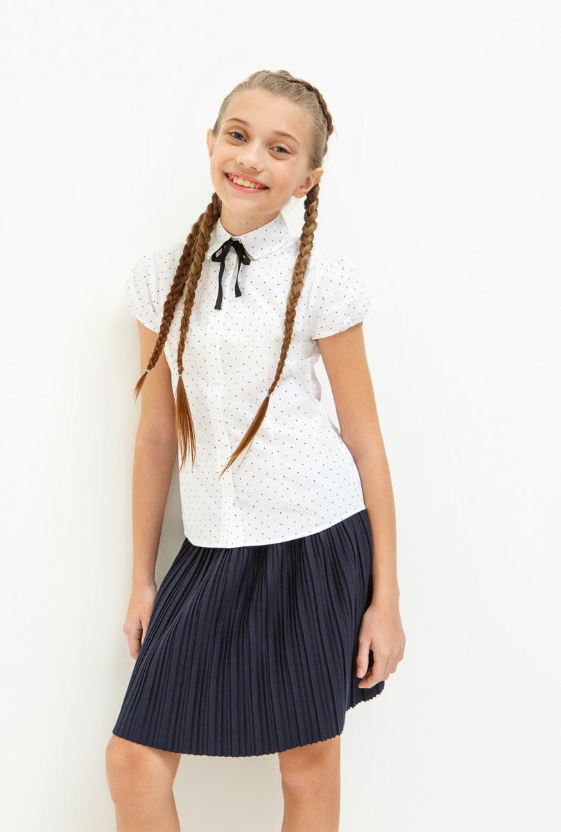 Юбка для девочки Acoola Jenya, цвет: темно-синий. 20240180019_600. Размер 15820240180019_600