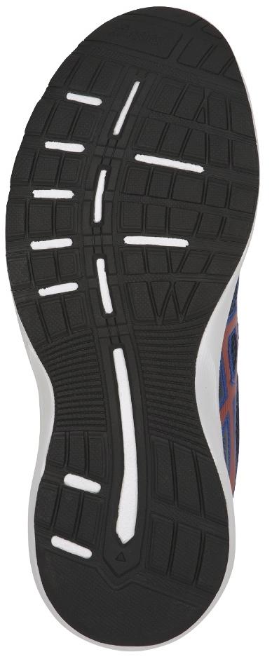 """Кроссовки Asics """"Stormer 2 GS"""" предназначены для бега и ходьбы. В пяточной зоне используется гель, который снижает нагрузку на стопу, колени и позвоночник. Верхняя часть и подкладка выполнены из текстиля."""