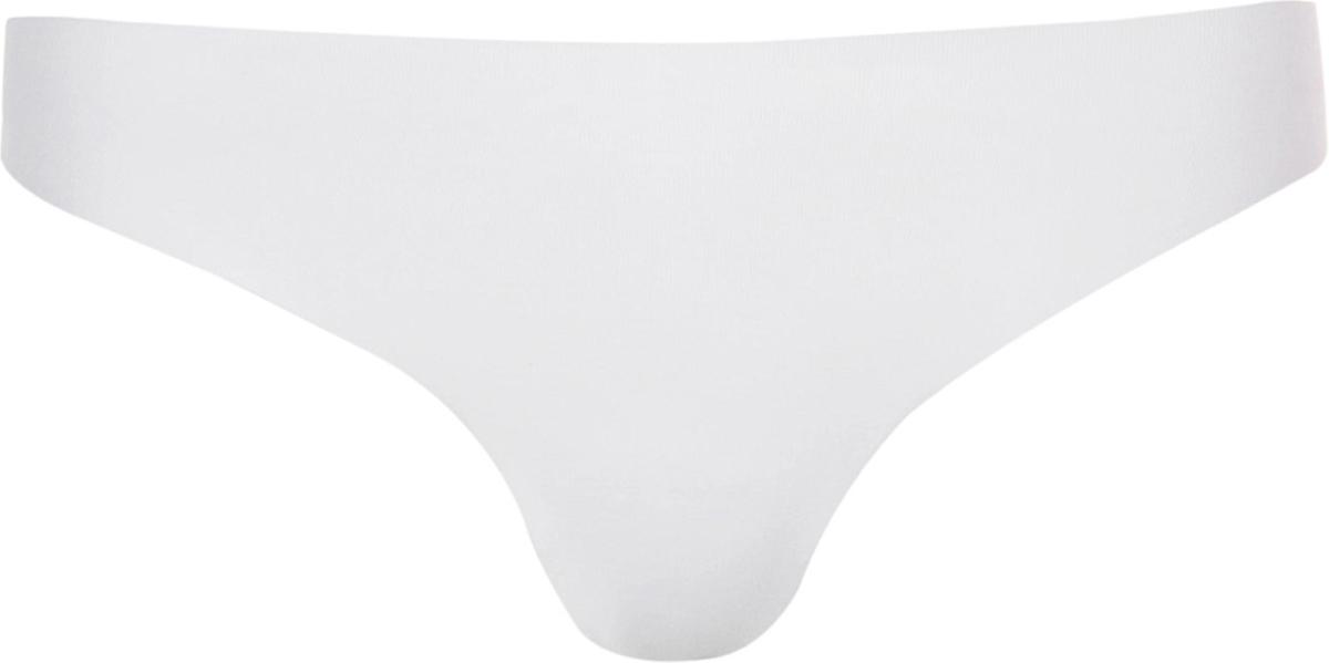 Трусы-стринги женские Ysabel Mora Laser Cut, бесшовные, цвет: белый. 19663. Размер L (48)19663Трусики-стринг с лазерным кроем. Низкая посадка. Эти трусики-невидимки не заметны даже под самой облегающей одеждой. Махровая ластовица.
