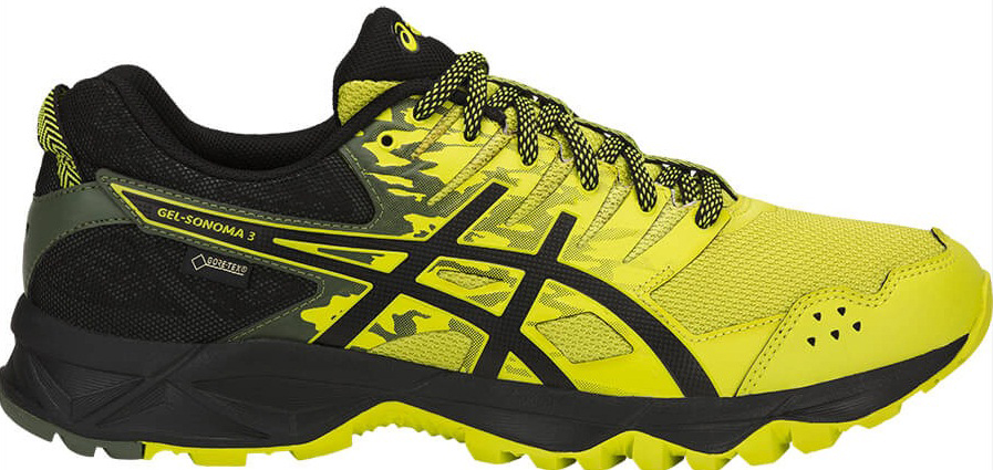 Кроссовки мужские Asics Gel-Sonoma 3 G-TX, цвет: желтый. T727N-8990. 11 (43,5)T727N-8990В беге по пересеченной местности необходимо всю энергию сконцентрировать на достижении цели и наслаждаться моментом и великолепным пейзажем вокруг. Мужские кроссовки Asics Gel-Sonoma 3 G-Tx - это обувь, которая имеет в своем арсенале все необходимое для изменчивых, непостоянных условий кросса. С ними вы можете достигнуть всех своих целей. Эти чрезвычайно прочные кроссовки, учитывающие все особенности бега по пересеченной местности, обеспечат комфорт, устойчивость и поддержку на протяжении всего маршрута. Кроссовки GEL-Sonoma 3 G-TX предназначены для кросса на короткие и средние расстояния и по любой поверхности. Гелевый амортизатор в задней части подошвы, технология EVA для средней части и светоотражатели 3M обеспечивают надежную защиту, а внешняя поверхность подошвы со стабилизацией для кросса гарантирует стабильность и поддержку на любой поверхности.