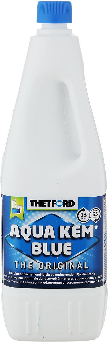 Жидкость для септиков и биотуалетов Thetford АкваКемБлю, 2 л порошок для септиков и биотуалетов thetford для биотуалета aqua kem blue sach 12 шт