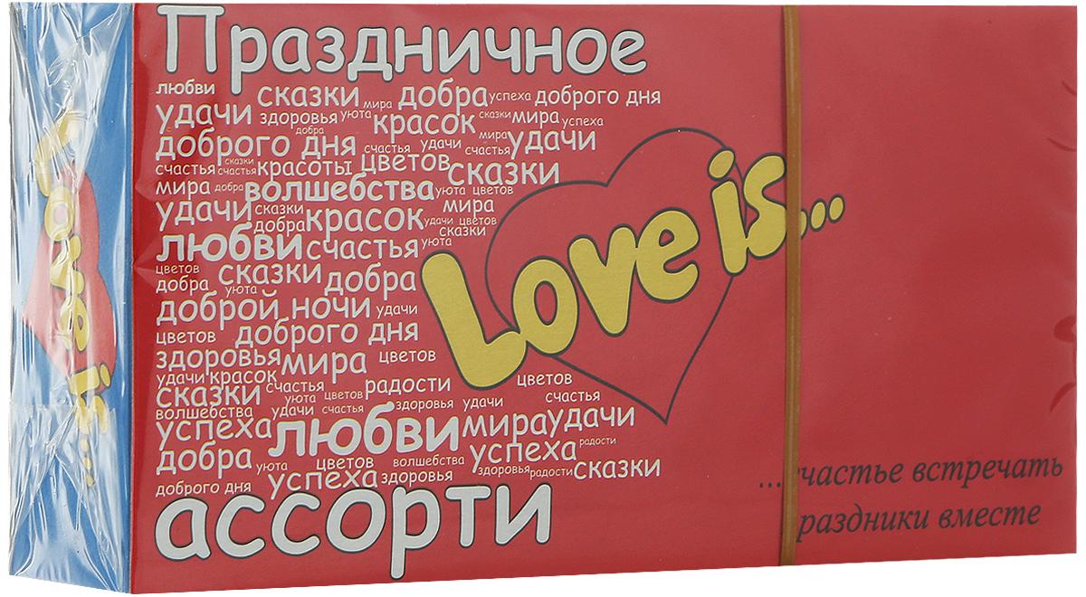 Love is жевательная резинка Микс вкусов Пожелания, 25 шт coris gum gum 5 ассорти жевательная резинка 38 г