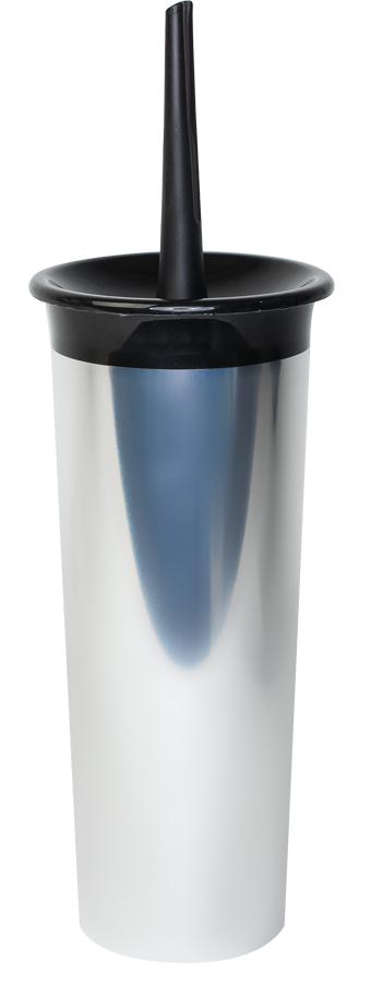 Ершик для туалета Svip Декор. Металл, с подставкойSV4015НЦКомплект предназначен для чистки сантехники в туалетной комнате. Сделан из высококачественного материала – толстые прочные стенки не трескаются даже при сильном нажатии. Этот комплект обладает дополнительным преимуществом – ерш для очистки после использования помещается для хранения в глубокий стакан, тем самым, обеспечивается эстетика и гигиена.