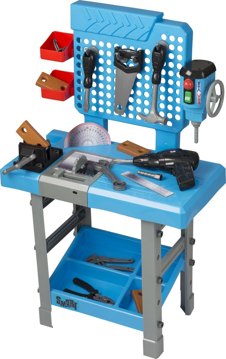 HTI Игровой набор Большой верстак с инструментами Smart hti игровой набор складной верстак