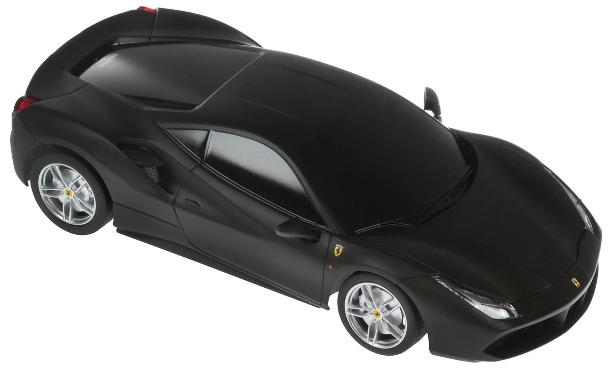 Rastar Радиоуправляемая модель Ferrari 488 GTB масштаб 1:24 цвет черный rastar радиоуправляемая модель mclaren p1 масштаб 1 14 цвет черный