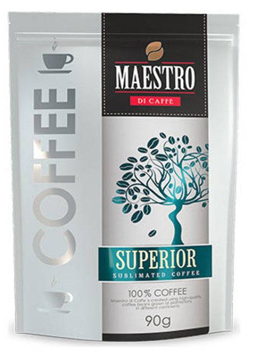 Maestro Di Caffe Superior кофе растворимый сублимированный, 90 г maestro grand
