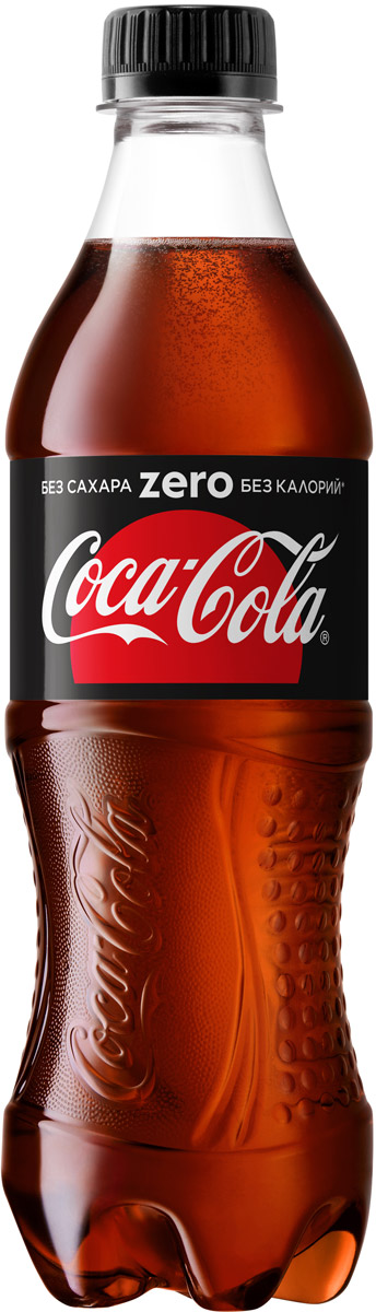 Coca-Cola Zero напиток сильногазированный, 0,5 л coca cola напиток газированный 355 мл