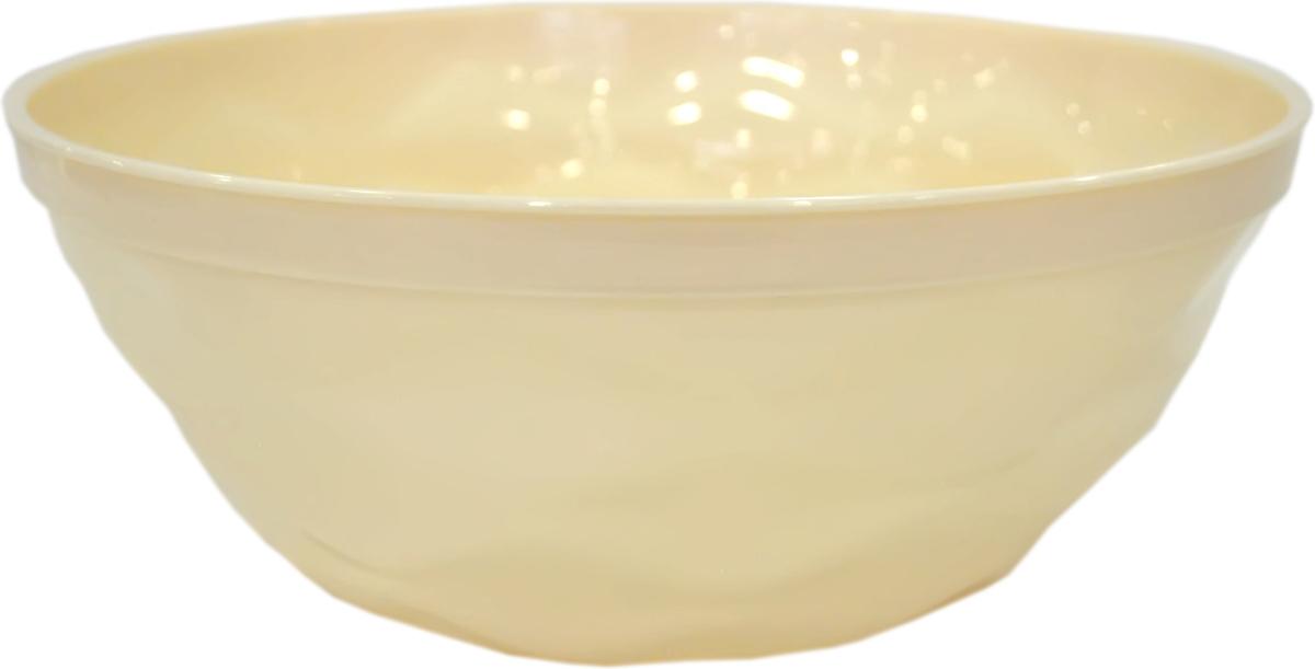 Салатник Giaretti Riva, цвет: сливочный, 4 лELP2204GСалатник Giaretti Riva яркий и вкусный, прочный и удобный. Он прекрасно подходит как для приготовления, так и для подачи различных блюд на стол. Салатник выполнен из пищевого пластика. Стильный дизайн и яркие цвета создадут творческую атмосферу на вашей кухне.