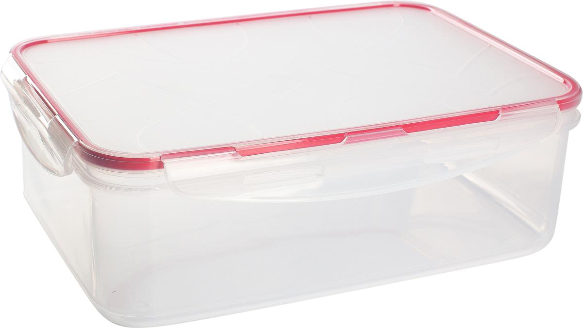Герметичный контейнер от Giaretti имеет целый ряд преимуществ: благодаря надежным замкам ваша еда надежно и герметично упакована, ее легко взять с собой без опасения пролить содержимое; контейнер подходит для хранения продуктов в морозильной камере, а также для разогрева в микроволновой печи; благодаря воздухонепроницаемой крышке продукты хранятся дольше; разные литражи и формы контейнеров.