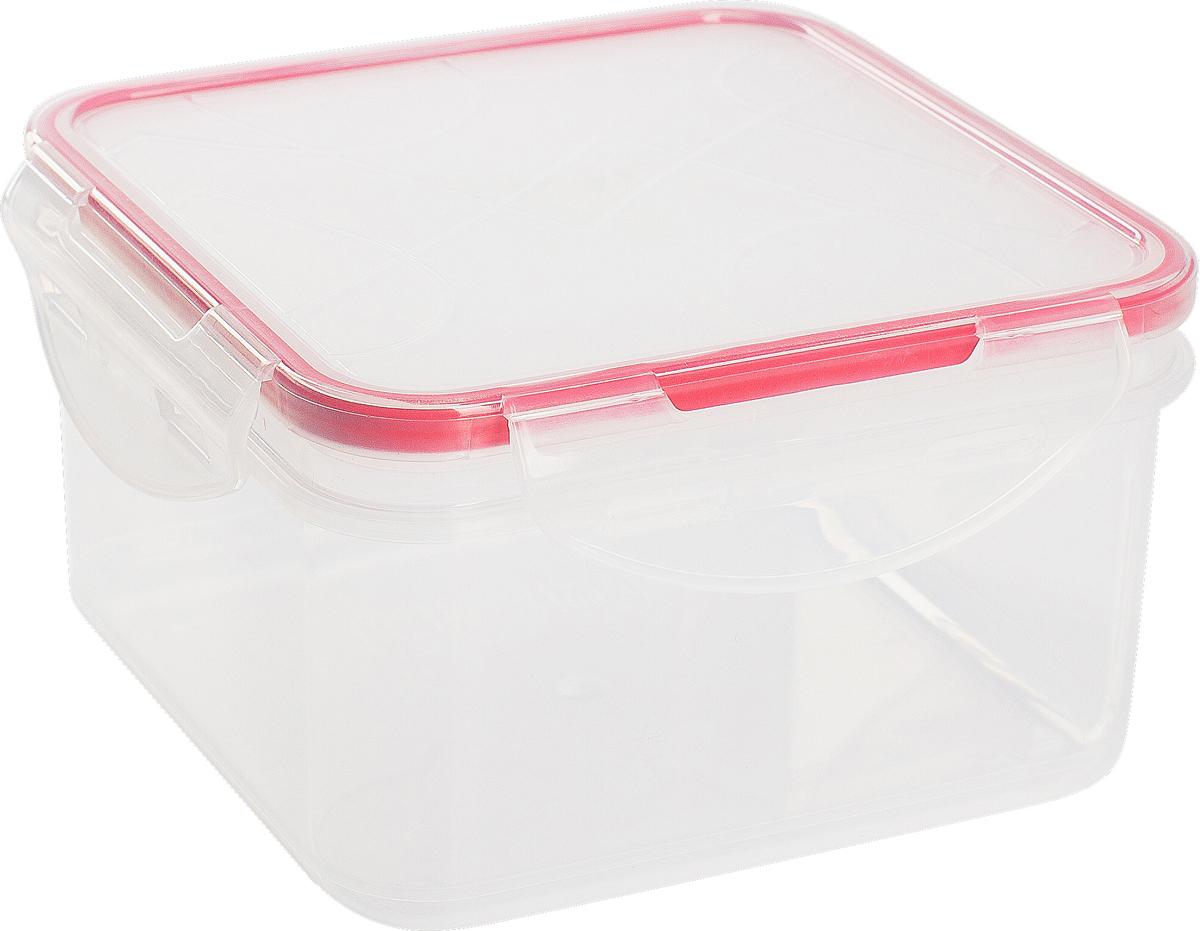 Контейнер для продуктов Giaretti Clipso, квадратный, цвет: черри, 400 млGR1843ЧЕРИГерметичный контейнер от Giaretti имеет целый ряд преимуществ: благодаря надежным замкам ваша еда надежно и герметично упакована, ее легко взять с собой без опасения пролить содержимое; контейнер подходит для хранения продуктов в морозильной камере, а также для разогрева в микроволновой печи; благодаря воздухонепроницаемой крышке продукты хранятся дольше; разные литражи и формы контейнеров.