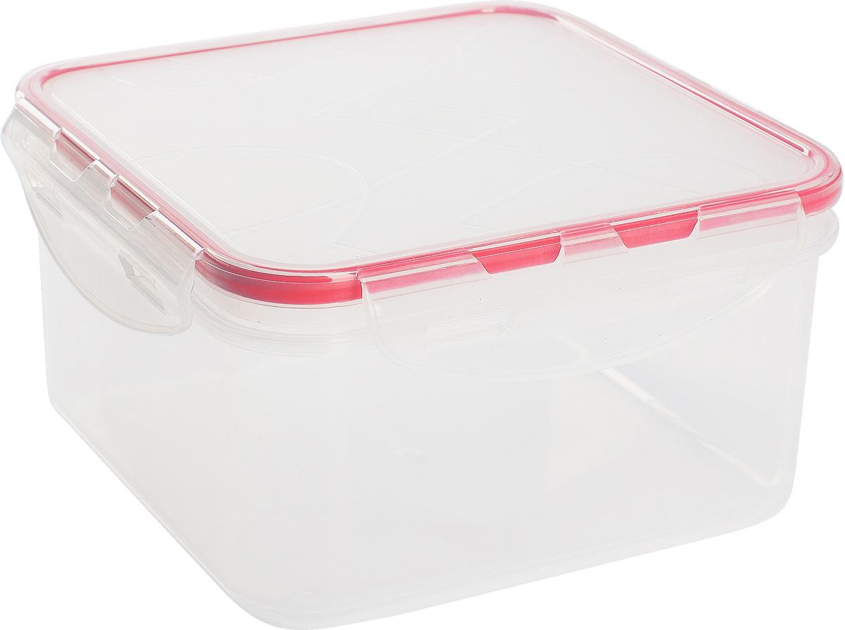 Контейнер для продуктов Giaretti Clipso, квадратный, цвет: черри, 700 млGR1844ЧЕРИГерметичный контейнер от Giaretti имеет целый ряд преимуществ: благодаря надежным замкам ваша еда надежно и герметично упакована, ее легко взять с собой без опасения пролить содержимое; контейнер подходит для хранения продуктов в морозильной камере, а также для разогрева в микроволновой печи; благодаря воздухонепроницаемой крышке продукты хранятся дольше; разные литражи и формы контейнеров.